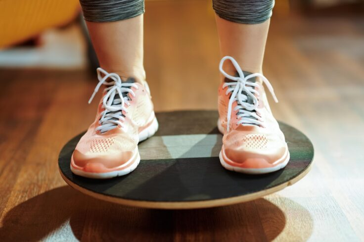 Physical Therapy Using A Smart Balance Board