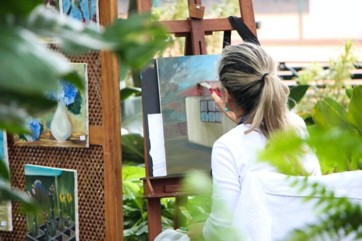 Ways To Relieve Built-Up Stress - Painting