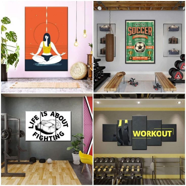 Easy Ways To Decorate Your Workout Space