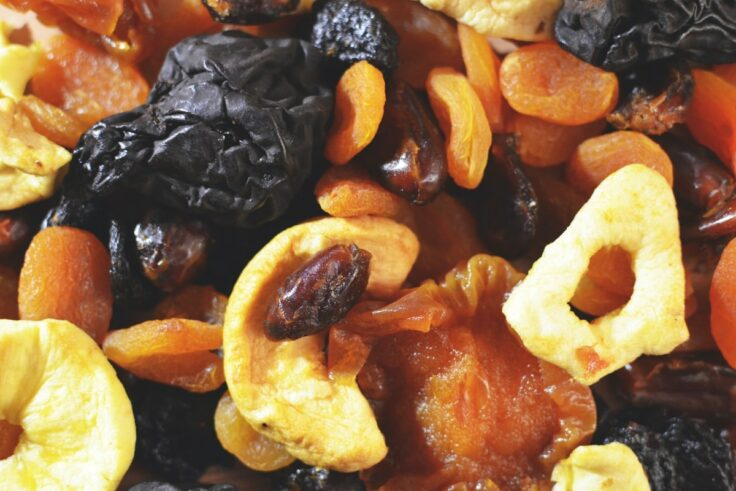 Iron-Rich Foods - Dried Fruits