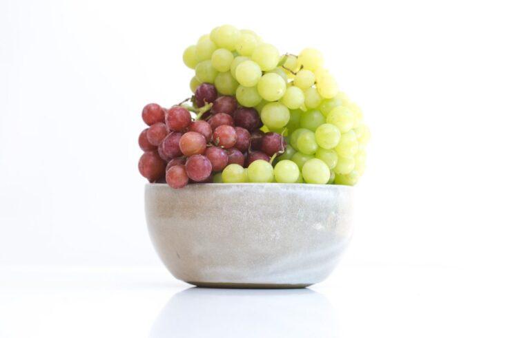 Grapes last 6 days at room temperature